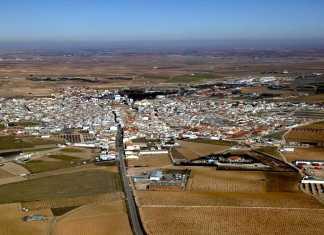 Vista aérea de Herencia