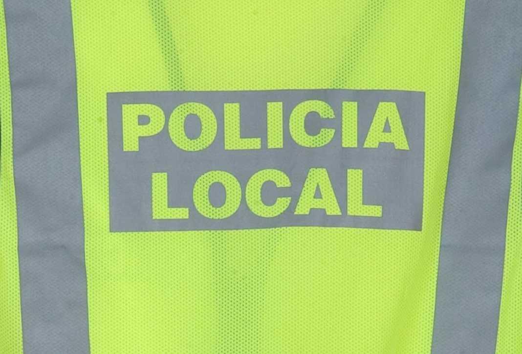 policia local herencia chaleco