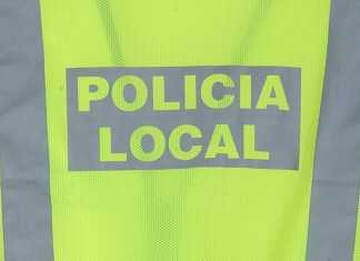 policia local herencia chaleco