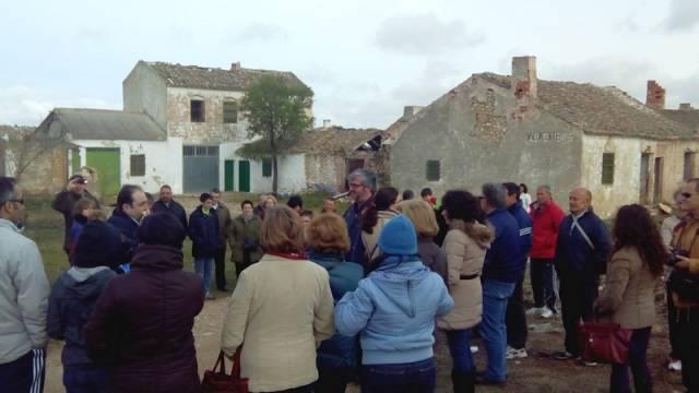 Visita a Villacentenos con motivo del 775 aniversario de Herencia