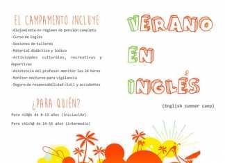 Ábrego Campamento de verano en inglés