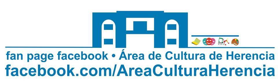 Nuevo logotipo del área de cultura del Ayuntamiento de Herencia - Nueva Fan Page de Facebook para el área de cultura municipal