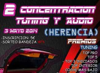 Segunda concentración tuning y audio en Herencia