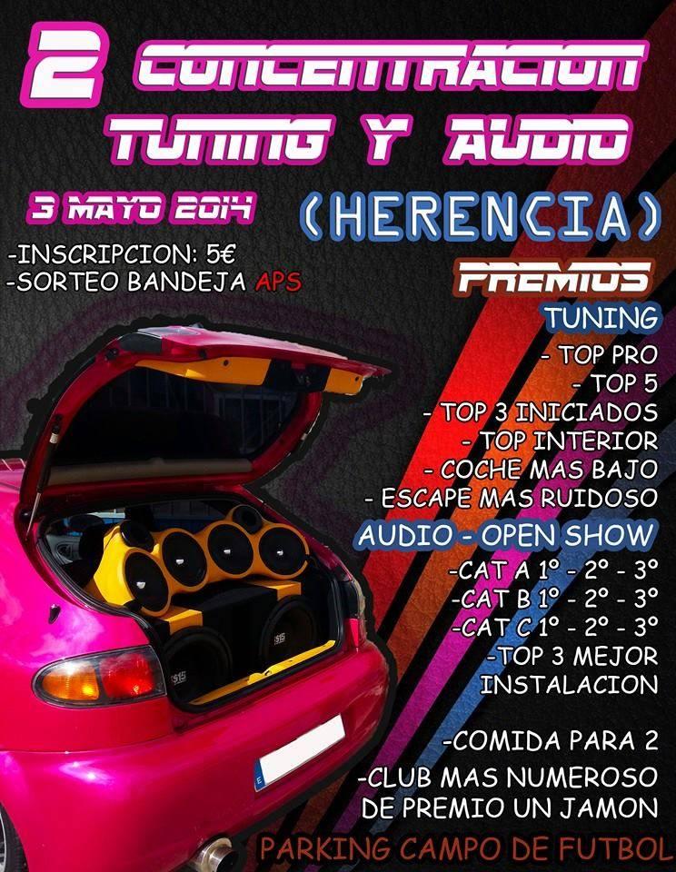 Segunda Concentración tuning y audio en Herencia - Segunda Concentración Tuning y Audio en Herencia