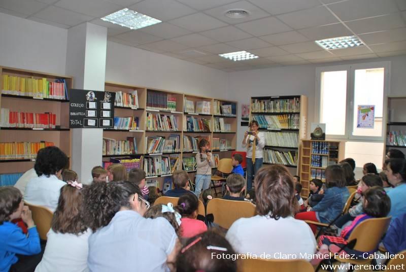 XXIII Semana de la Biblioteca de Herencia 58 - La biblioteca de Herencia vuelve a lograr un premio María Moliner de animación a la lectura