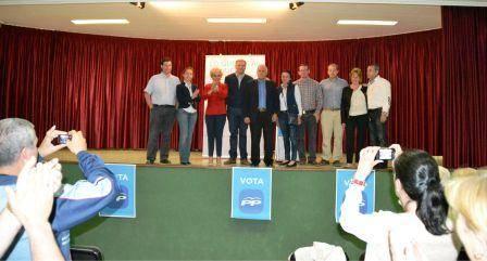 Celebrado un acto electoral del Partido Popular en Herencia 1