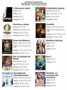 cartelera de cinemancha del miercoles 231 al jueves 29 de mayo 225x300 - Cartelera Cinemancha miércoles 21 al jueves 29 de mayo