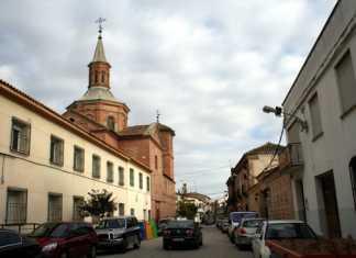 Vista de la calle Colón de Herencia