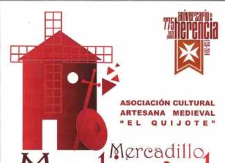 Cartel mercadillo medieval
