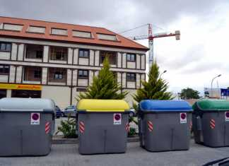 Nuevos contenedores de residuos urbanos y reciclaje de Herencia