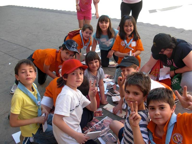 jubileoinfantil12 - 400 niños y niñas de Herencia celebraron el jubileo de la infancia