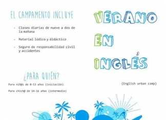 Campamento urbano de ingles en Herencia