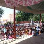 Clausura jornadas cooperacion y educación al desarrollo instituto de Herencia 2 150x150 - La mirada dulce de Togo podrá verse también en horario de tarde