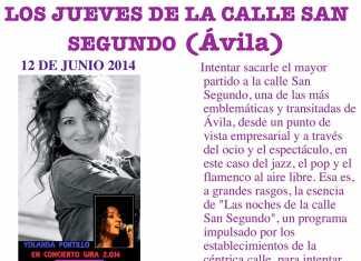Concierto de Yolanda Portillo en Ávila