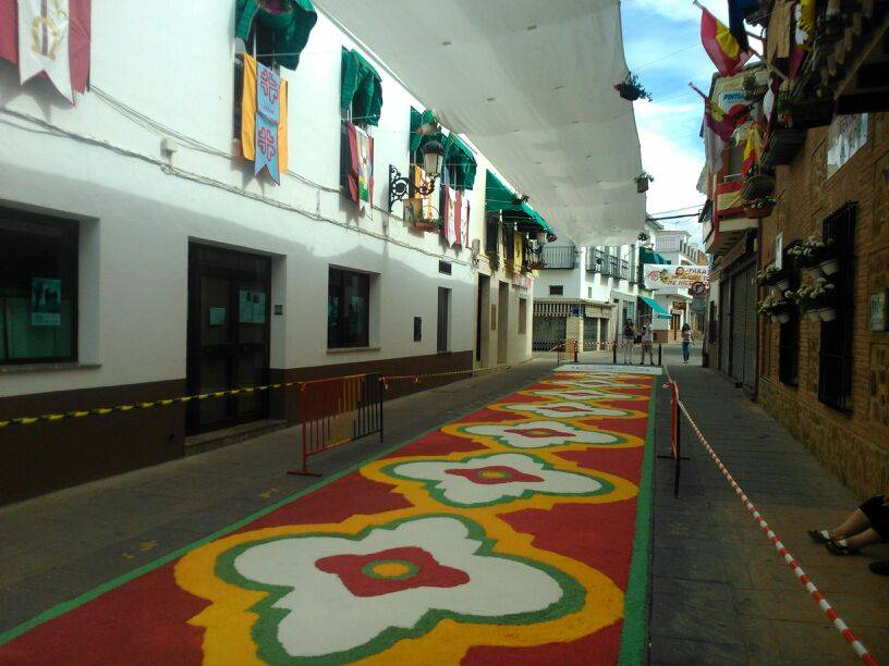 Fotogalería de altares y alfombras del Corpus Christi 27