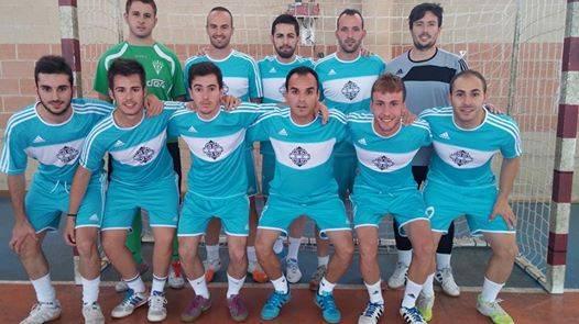 Equipo de fútbol sala Pub 1800 - El equipo Pub 1800 subcampeón del maratón de fútbol sala regional de Pedro Muñoz
