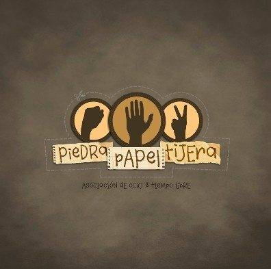 Logotipo asociación piedra papel tijera de Herencia
