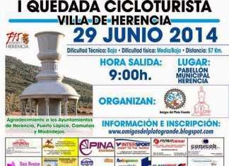 Primera Quedada Cicloturista Villa de Herencia