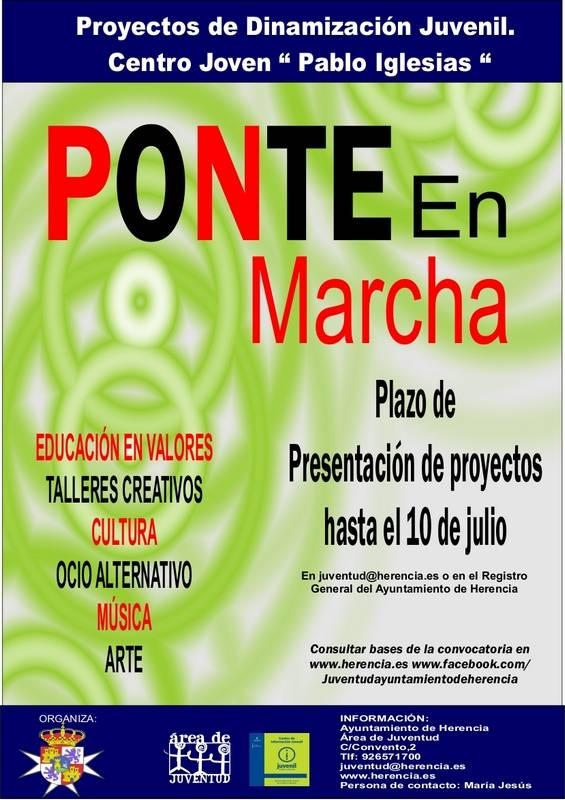 Proyectos Ponte en marcha Herencia - Herencia busca ideas para crear su Centro Joven