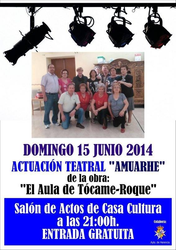 Teatro Amuarhe en Herencia