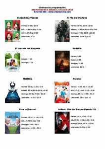 Horarios películas