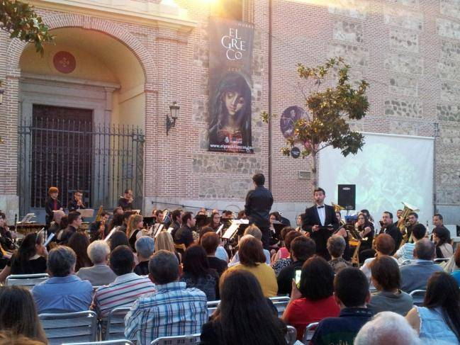 concierto2 - Luis Miguel Abengoza dirige la Banda Sinfónica de Toledo en Illescas