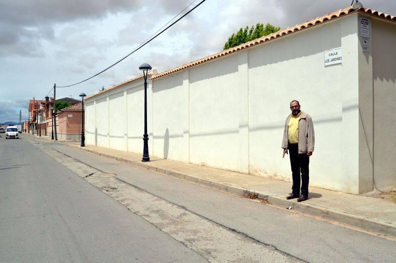 herencia calle jardines colector 1 - Obras de nuevos acerados, instalación de bolardos en casco histórico y un nuevo colector de la calle Jardines