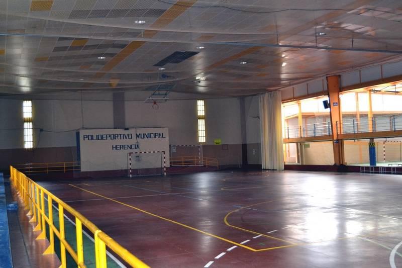 herencia interior pabellon1 - Todo el deporte del fin de semana del 17 y 18 febrero