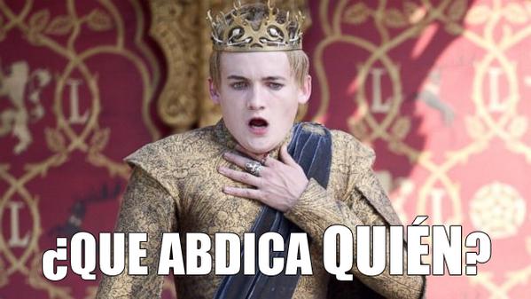 que abdica quien - Abdica el Rey de España, Don Juan Carlos I