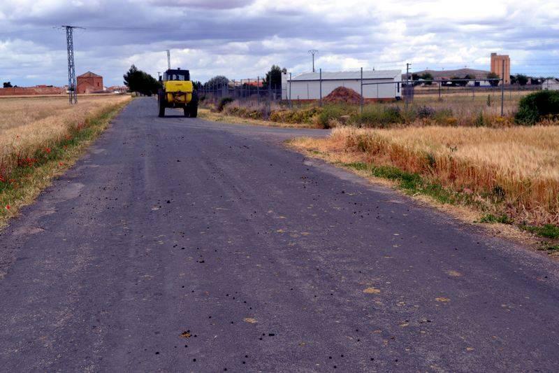 Camino del término municipal de Herencia