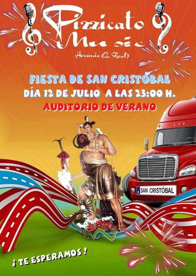 Concierto Pizzicato Music - Programa de actividades con motivo de la festividad de San Cristóbal