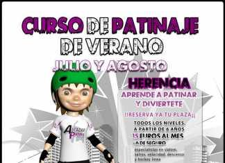 Cursos de patinaje de verano en Herencia