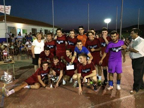 Equipo de Herencia en el maratón de fútbol sala de Puerto Lápice - Gran papel de los herencianos en las maratones de futbol sala