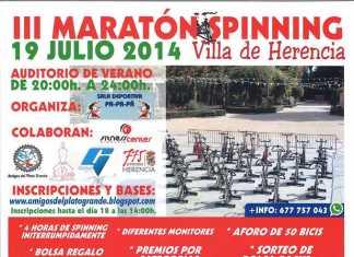III Maraton de Spinning Villa de Herencia