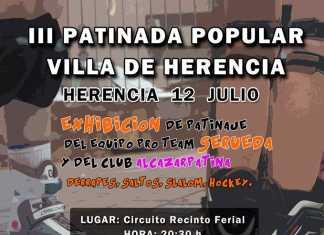 Tercera patinada popular villa de Herencia