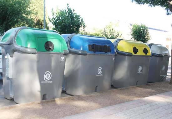contenedores de comsermancha - Comsermancha termina la instalación de 4.375 contenedores entre sus 21 municipios