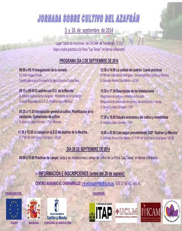 El consejo Local Agrario informa sobre una jornada de cultivo de azafrán 1