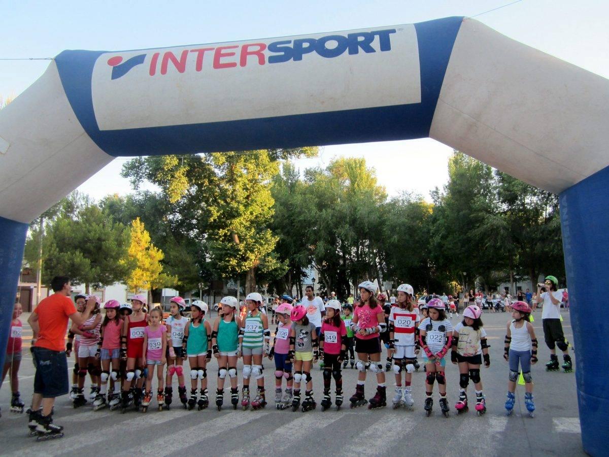 herencia iii patinada popular 2 -  Más de 60 personas participaron en la divertida 3ª Patinada Popular Villa de Herencia