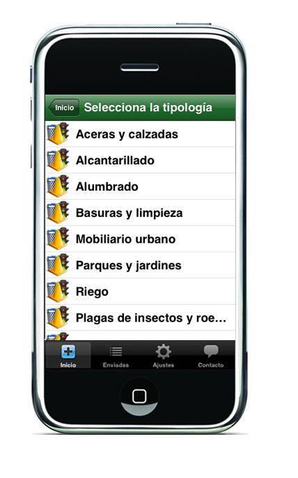 App movil línea verde