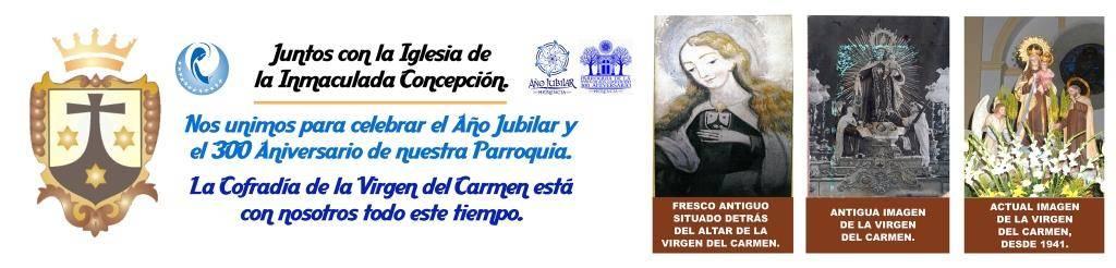 lona virgen carmenweb - Todo preparado para celebrar la festividad de la Virgen del Carmen