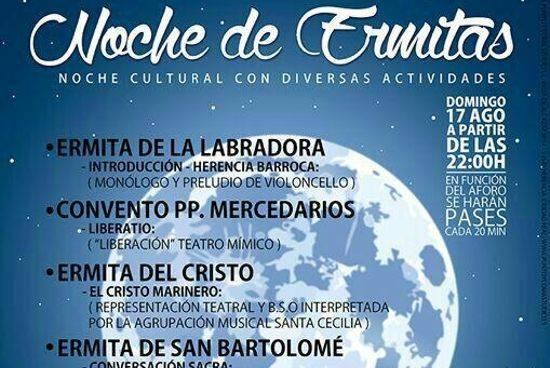 noche de la ermitas en herencia ciudad real - La noche de las ermitas es la propuesta cultural de la parroquia para el mes de agosto