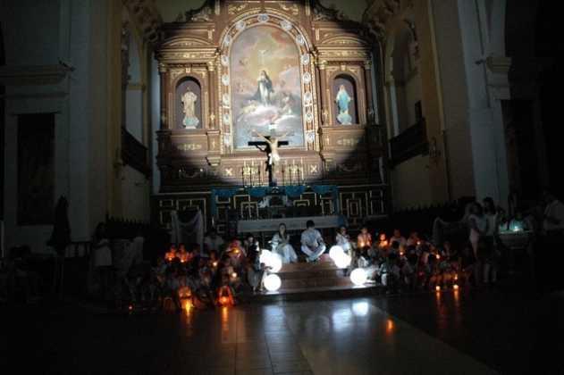 noche de las ermitas en Herencia 55 631x420 - La noche de las ermitas es la propuesta cultural de la parroquia para el mes de agosto