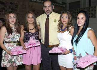 Alclade de Herencia junto a las próximas Reina y damas de las ferias 2014