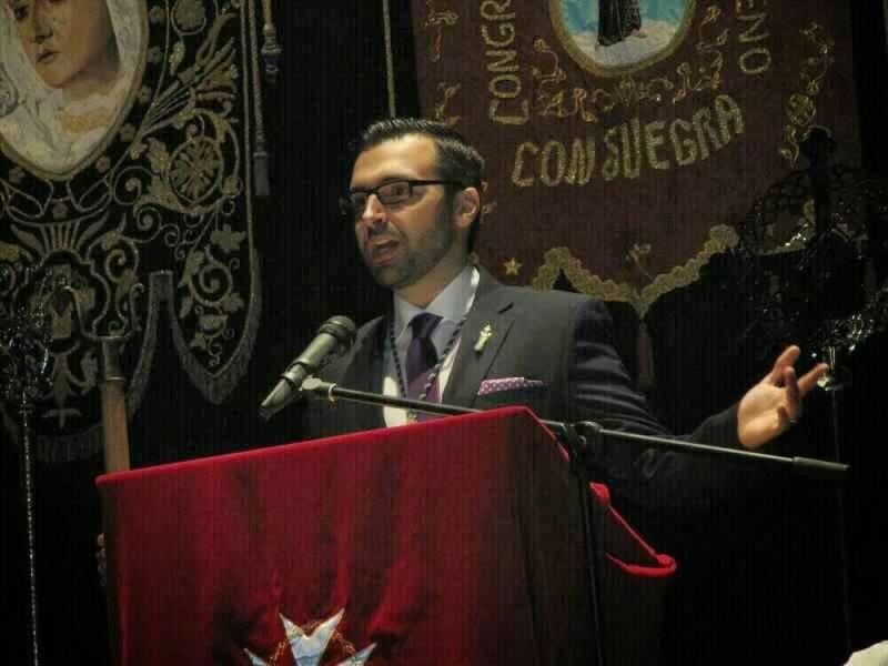 Antonio Martin-Viveros pregonero