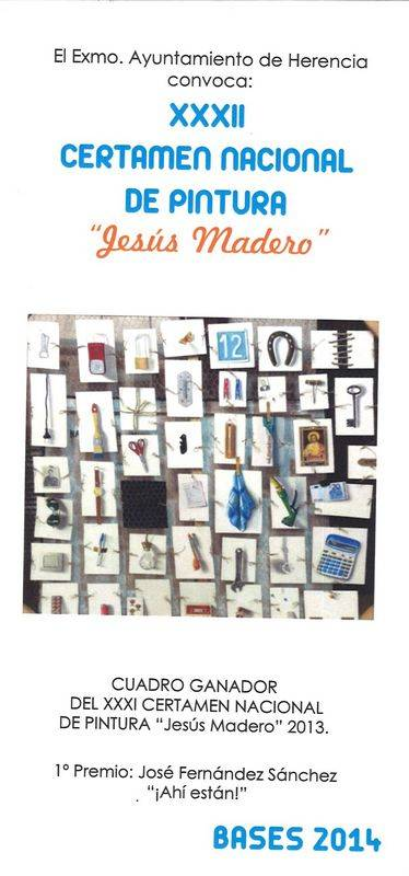 certamen nacional de pintura Jesús Madero