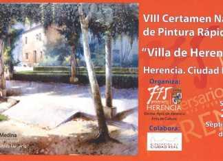 VIII Certamen de Pintura Rápida Villa de Herencia
