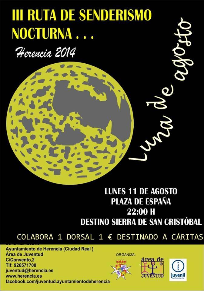 III Ruta de senderismo nocturna - Juventud organiza su tercera ruta de senderismo nocturna