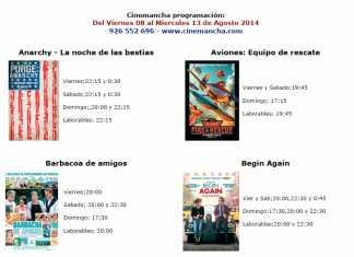 cinemancha: cartelera cine 8 a 13 agosto 2104