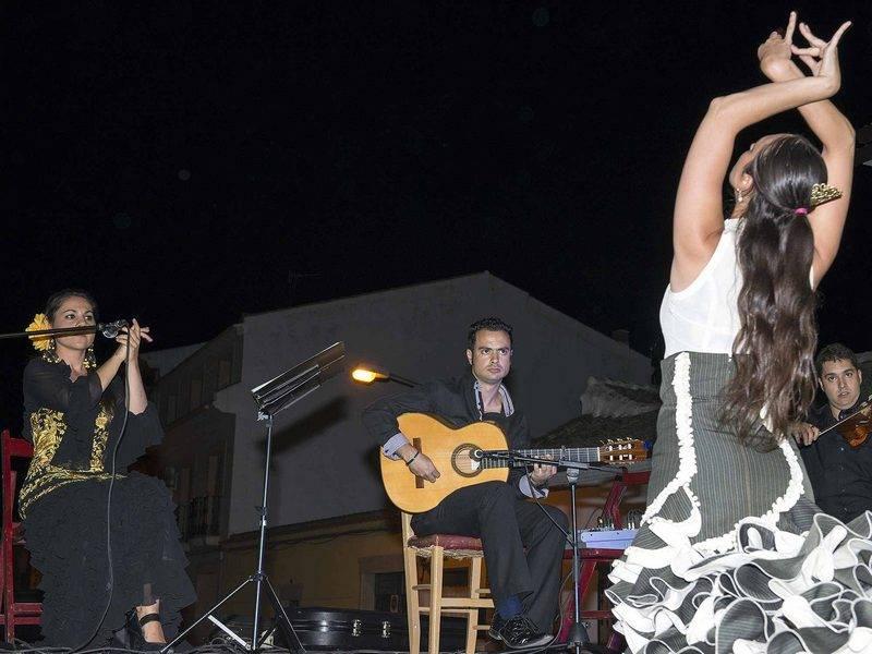 herencia baile flamenco barrio la labradora - Elegida la reina y damas para la próxima feria y fiestas de La Merced