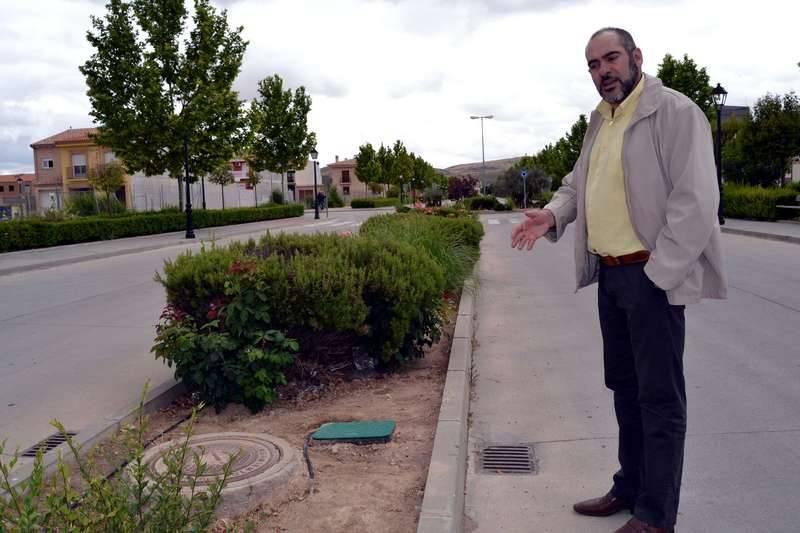 herencia sistema riego alcalde - Importante ahorro de agua desde la implantación del nuevo riego automático